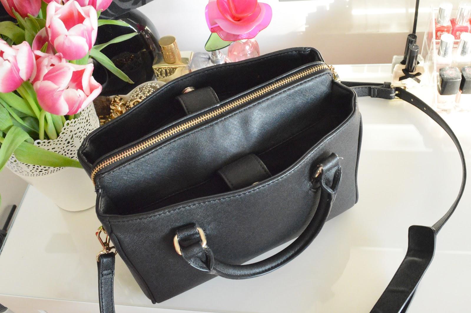What S In My Handbag Zara Mini Office City Bag