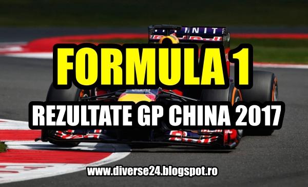 Marele premiu al Chinei la Formula 1 din 2017