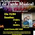 APRESENTAÇÃO GRATUITA: FINAL DE TARDE MUSICAL EM CAJATI