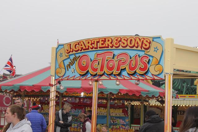 Carters Steam Fair mini octopus ride art work.