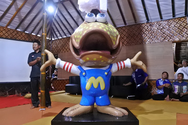 Maskot Dewi Mangrovesari