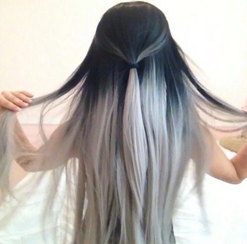 A month in hair colors! Today: black & white hairstyles! - The ...