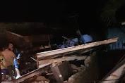 Jembatan Putus, Evakuasi Korban Gempa Lombok Terhambat