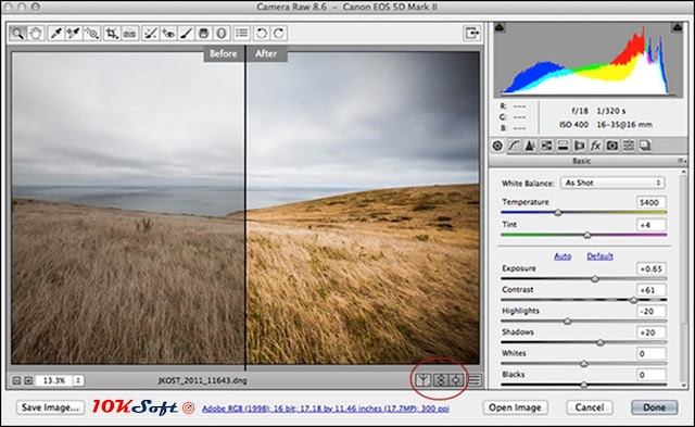 Adobe Camera Raw 9.12 for Mac OS X Direct Download Link