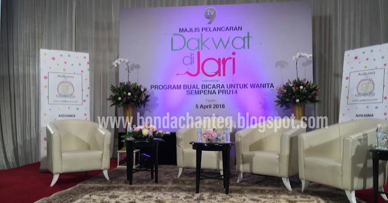 Majlis Pelancaran Dakwat Di Jari Bersama TV9