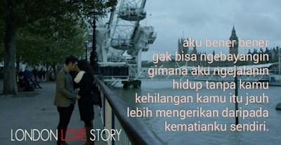 Google Image - 20 Kata Bijak London Love Story dalam Bahasa Inggris dan Artinya