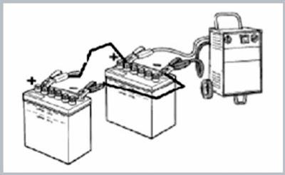 Cara mencharge baterai Paralel