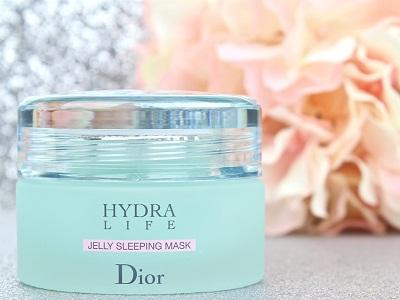 Review Hydra Life Jelly Sleeping Mask Mặt Nạ Ngủ đầu tiên của Dior dưỡng ẩm cực tốt, Review Dior Hydra Life Jelly Sleeping Mask, dior, sleeping mask, mặt nạ ngủ