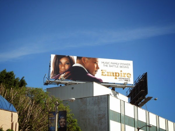 Empire series launch billboard