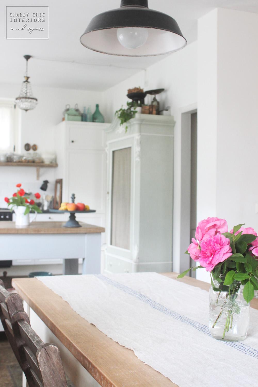 Blog arredamento shabby - Mensole in vetro per soggiorno ...