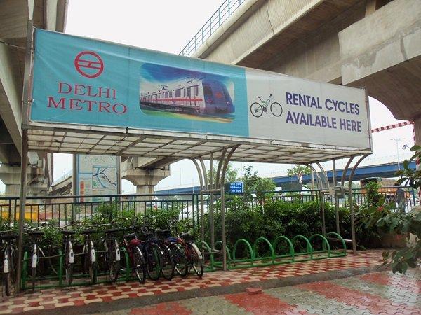 Bicycles On Rent, delhi metro app
