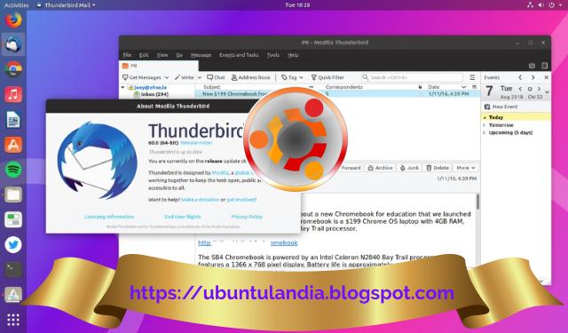 Rilasciata una nuova versione di MozillaThunderbird, tutte le modifiche descritte in dettaglio.