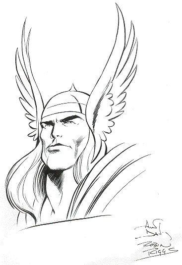 Bau Da Web Thor Desenhos Super Heroi Para Colorir