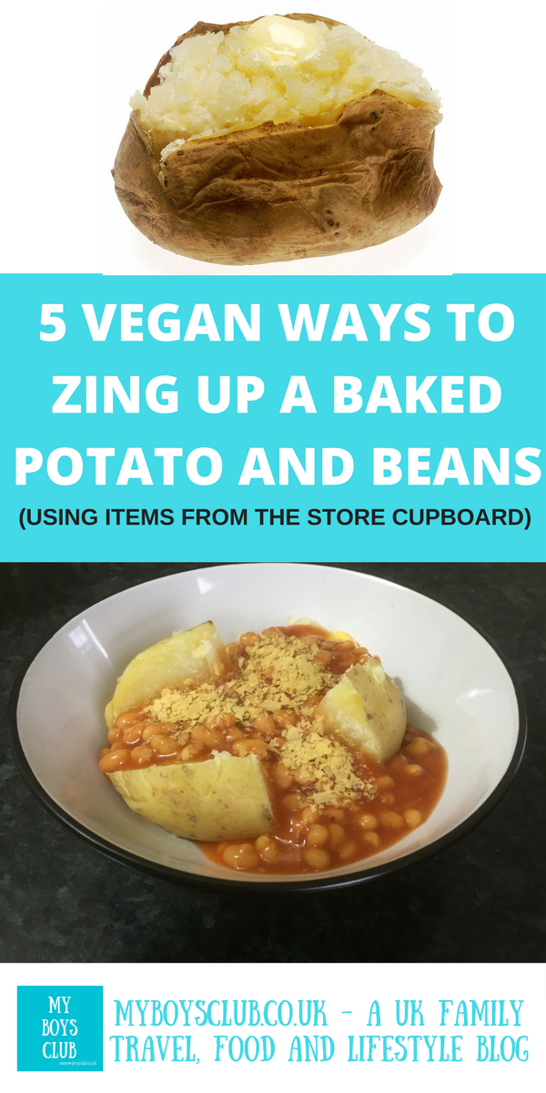 5 Vegan Ways To Zing Up A Baked Potato And Beans Using
