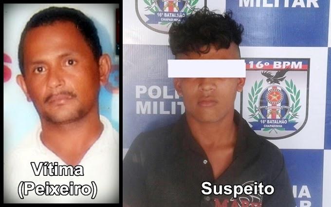 Menor suspeito de assassinar peixeiro em Chapadinha é capturado pela Polícia
