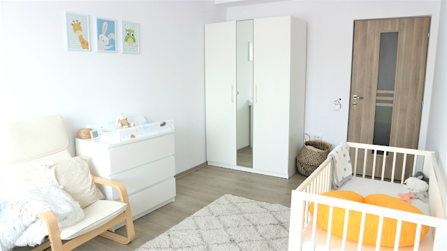 white neutral baby boy room decor ideas