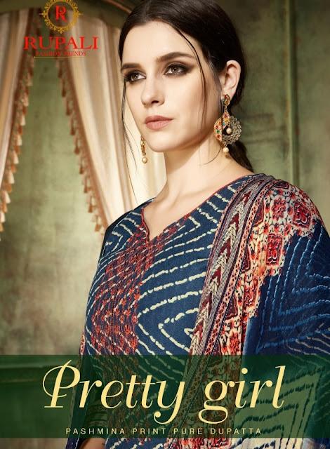 Rupali Pretty girl Pashmina Winter Salwar kameez wholesaler