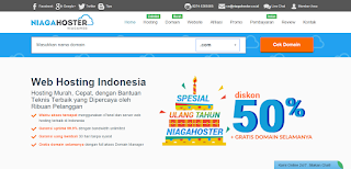 Niagahoster - Homepage