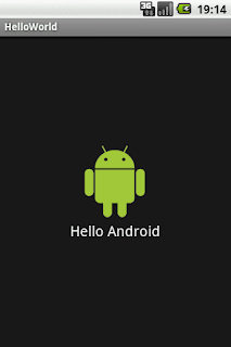 hello world android application development