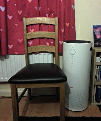 Vax Pure Air 300 next to a chair for scale