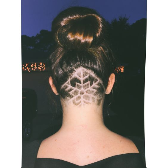 Hidden Hair Tattoos The Haircut Web