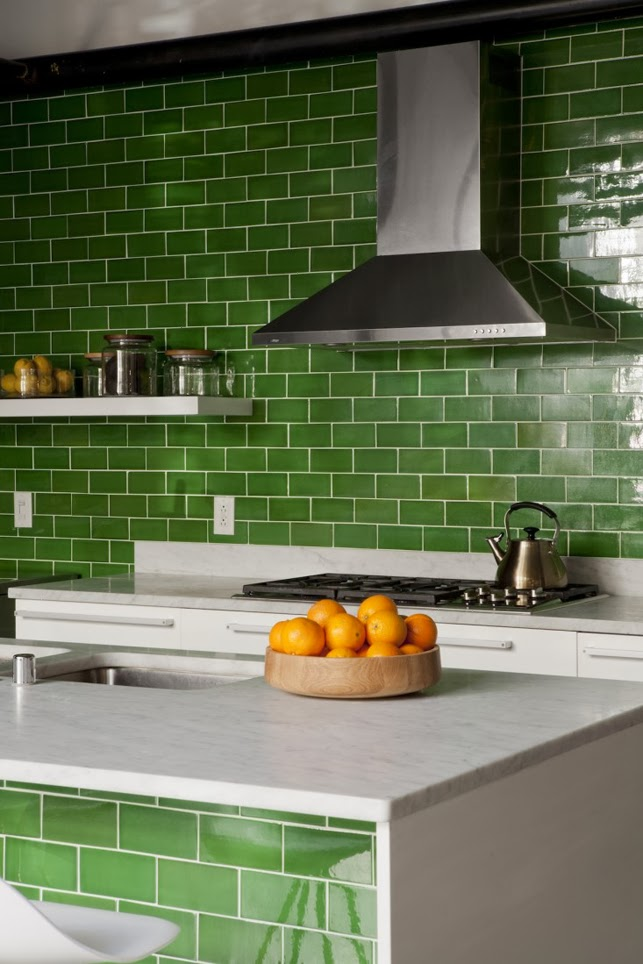 green kitchen tiles you been here sometime 1445