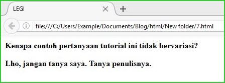 Pewarisan, Class, dan Selector-kontekstual pada CSS