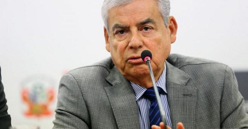 CÉSAR VILLANUEVA: Presidente del Consejo de Ministros, será distinguido por la Universidad Nacional Federico Villarreal