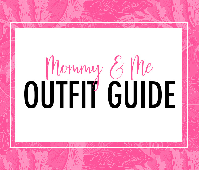 mommy and me outerwear monograms
