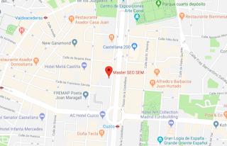 Tener un perfil de tu negocio en Google My Business te hará aparecer resaltado en Google Maps.