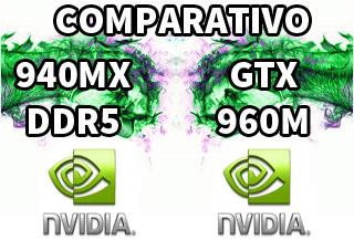 nvidia geforce 940mx ddr5 vs gtx 960m