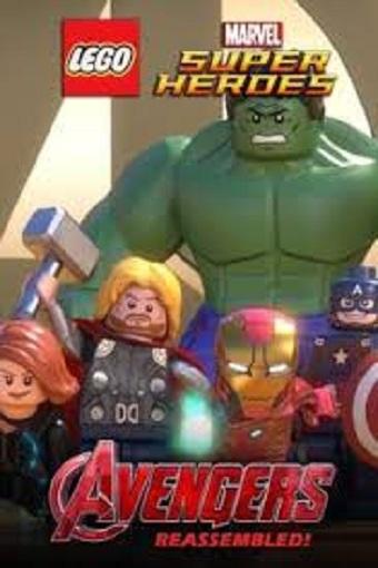Lego Marvel Super Heroes Avengers Reassembled 2015 Dual Audio Hindi 720p WEBRip 200mb