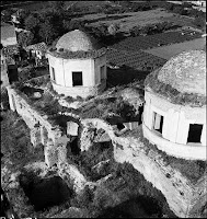 Fenari Isa Camii (Monastery of Livos), view from above, May 1937 [Credit: © Nicholas V. Artamonoff Collection, Image Collections and Fieldwork Archives, Dumbarton Oaks]