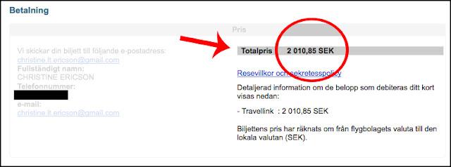Travellink - falsk marknadsfröring och pengafiffel