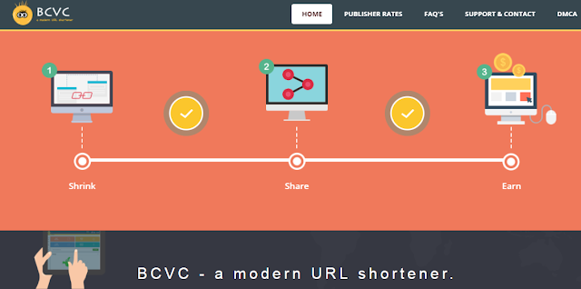 Bc.vc url link shortner