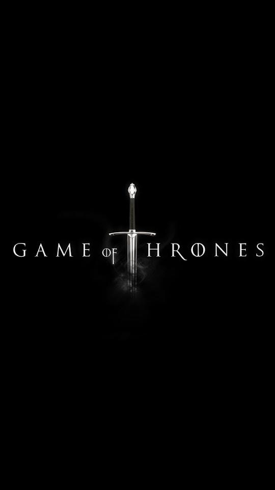 Minimal Game of Thrones Sword  Galaxy Note HD Wallpaper