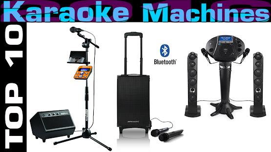 Top 10 Review Products-Top 10 Karaoke Machines 2016