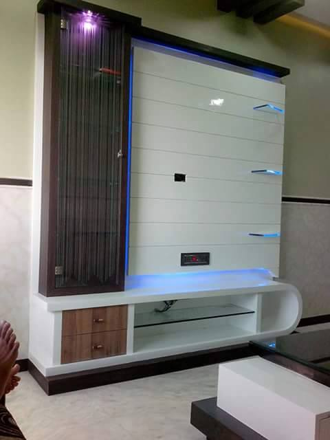 Wall Tv Unit Design Tv Unit: Innovative Wall Decorations For TV Unit Designs