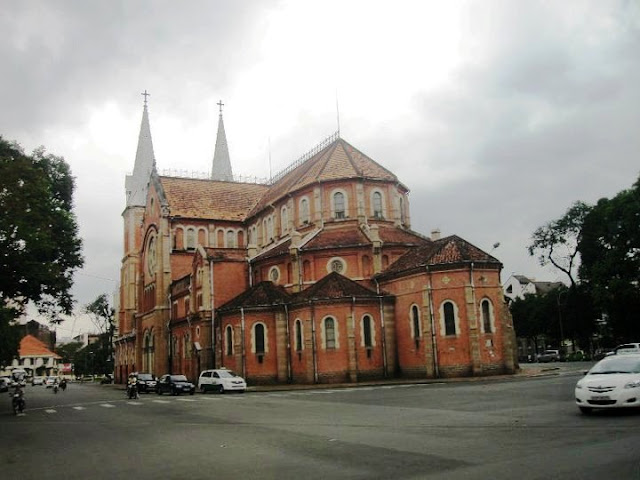 The Notre Dame Catheral Ho Chi Minh Vietnam