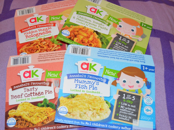 Annabel Karmel Frozen Meals Review