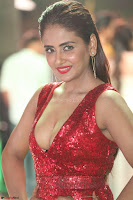 Parul Yadav in Sleeveless Deep Neck Red Gown at IIFA Utsavam Awards March 2017 004.JPG