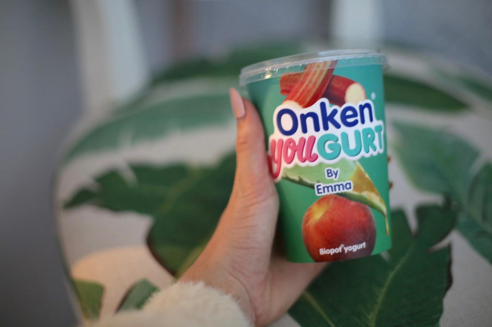 personalised onken yoghurt