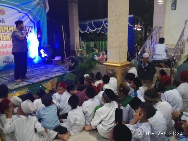 Kapolsek Karawaci Bersama 150 Jama'a Hadiri Peringatan Maulid Nabi Muhammad SAW