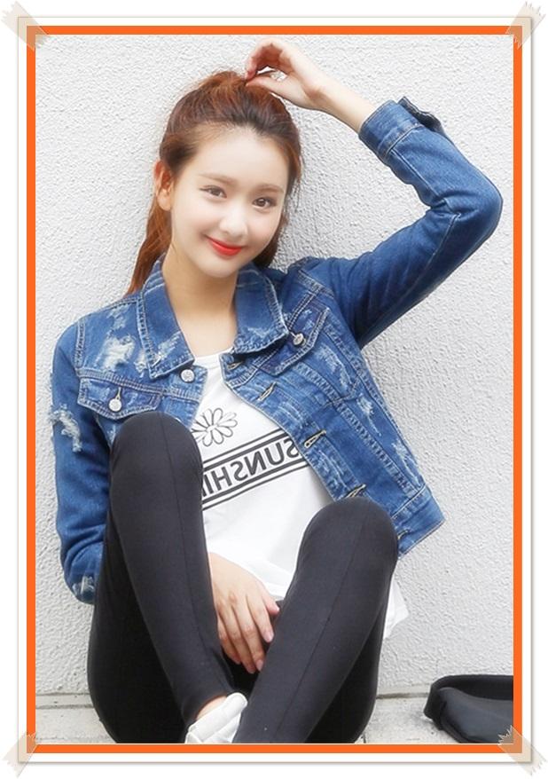 foto jaket model levis wanita terbaru