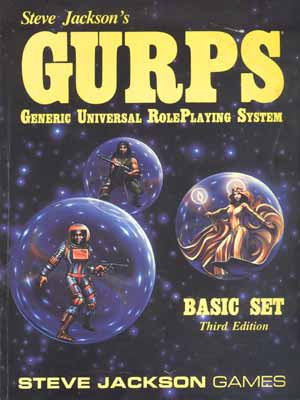 Mike's Amazing RPG Fun Pad: From The Past: My Random GURPS