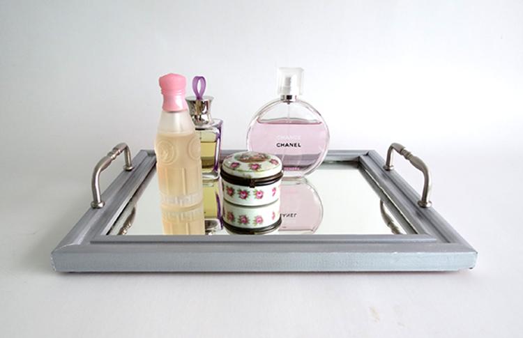 Make A Mirror Tray Ohoh Deco