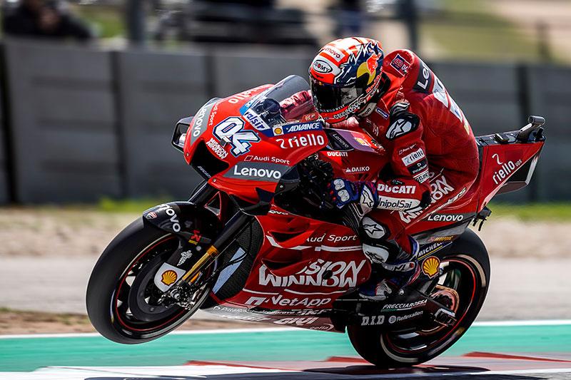 MotoGP 2019 : Perolehan poin sementara rider pasca race COTA Amerika, Dovizioso memimpin !
