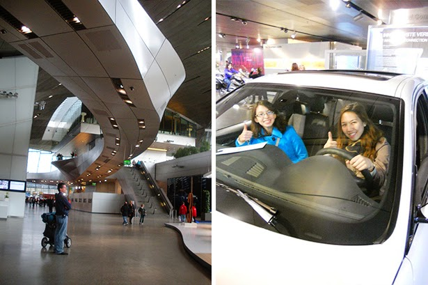 The BMW Museum in Munich, Germany