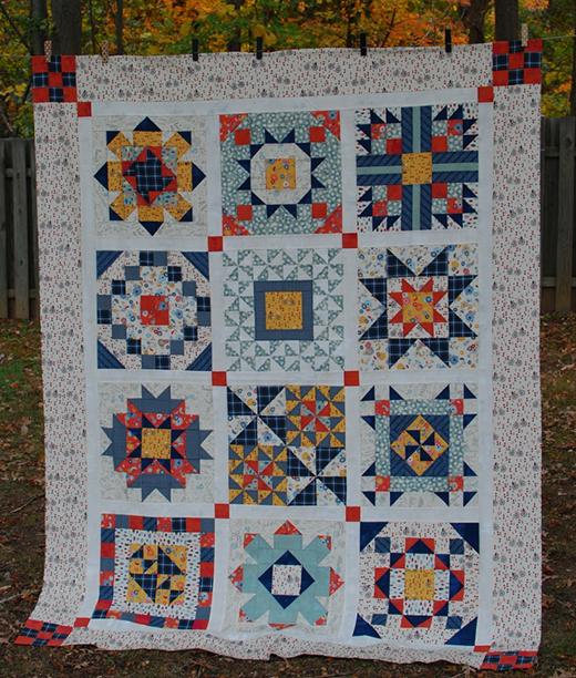 Secret Garden Quilt Free Pattern