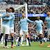 Con una asistencia de Agüero, Manchester City aplastó 3-0 a Fulham